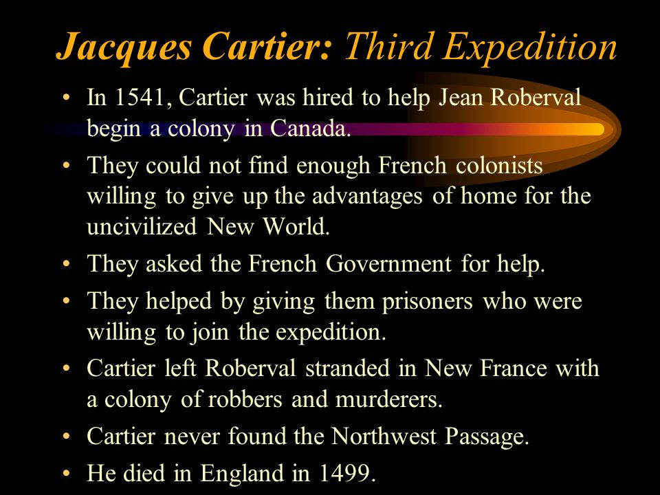 Jacques Cartier: Takes Prisoners The Huron were generous to Cartier, but he betrayed them. He kidnapped 12 Indians, including their chief, and headed