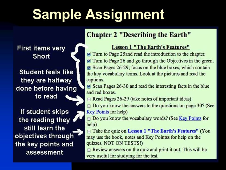 Sample Assignment