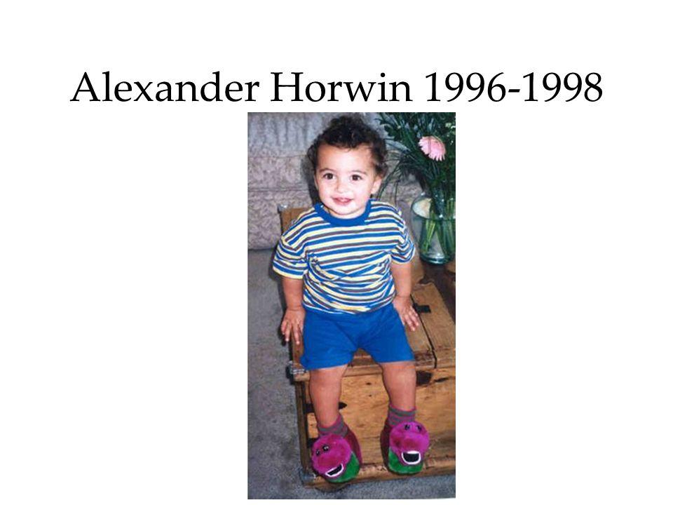 Alexander Horwin 1996-1998