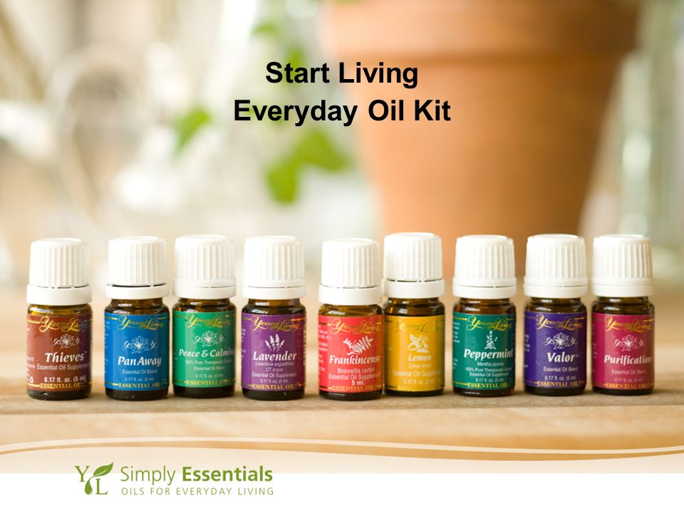 Start Living Everyday Oil Kit