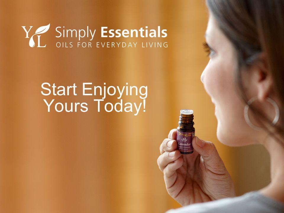 Start Enjoying Yours Today!