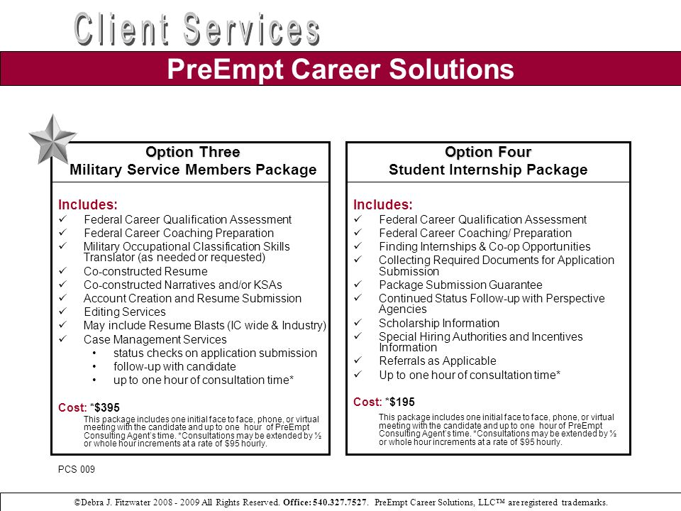Federal Resume Package Submittal Cycle: From the Database to the Hiring Managers Desk First Cut Column: Did you know, out of 200 candidates that submit their resume package for federal employment, less than 50 percent make the initial cut.