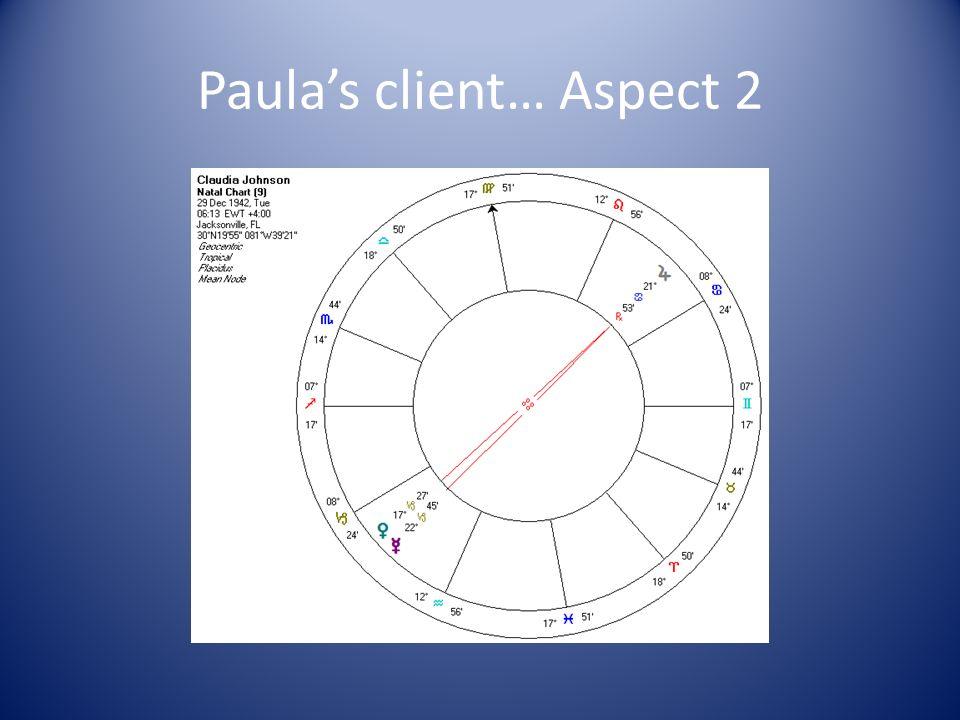 Paulas client… Aspect 2