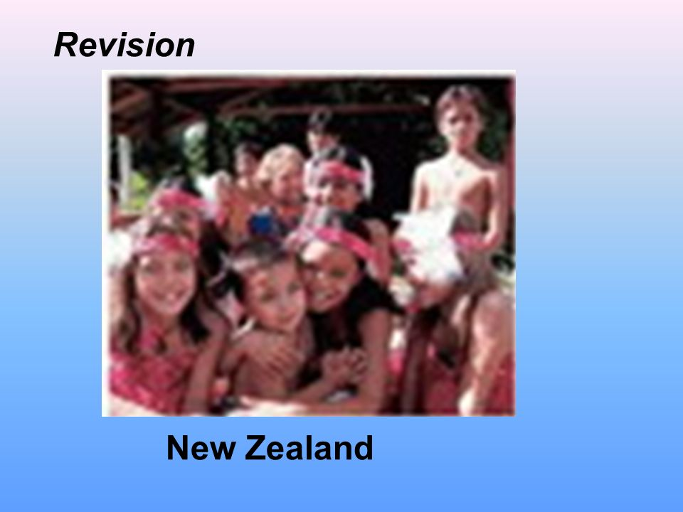 New Zealand Revision