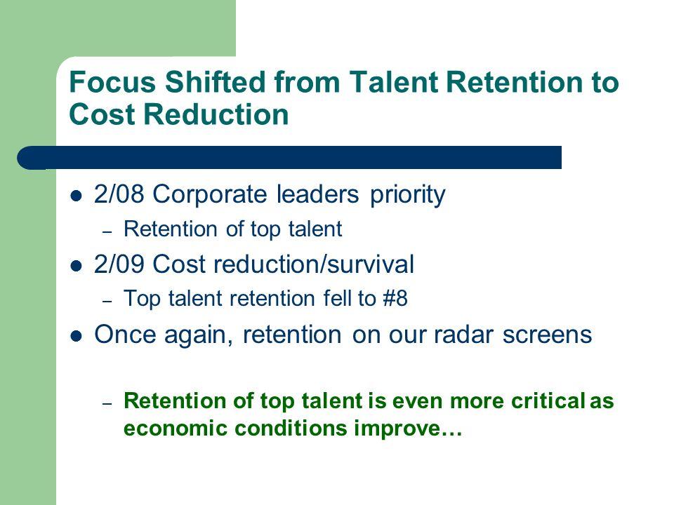 The Six Most Dangerous Retention Mistakes 1.Focusing on Retention Programs vs.
