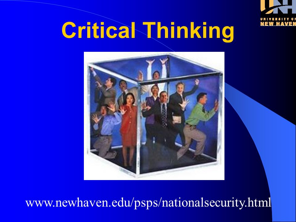 www.newhaven.edu/psps/nationalsecurity.html Standards ?