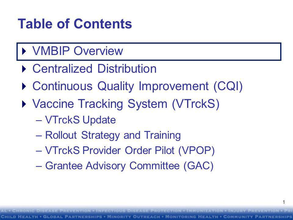 DRAFTDRAFT DRAFTDRAFT Program Managers Meeting Atlanta, GA January 21, 2010 Vaccine Management Business Improvement Project (VMBIP)