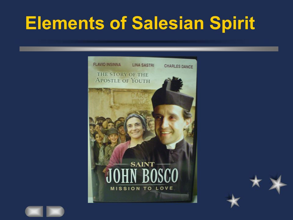 Elements of Salesian Spirit