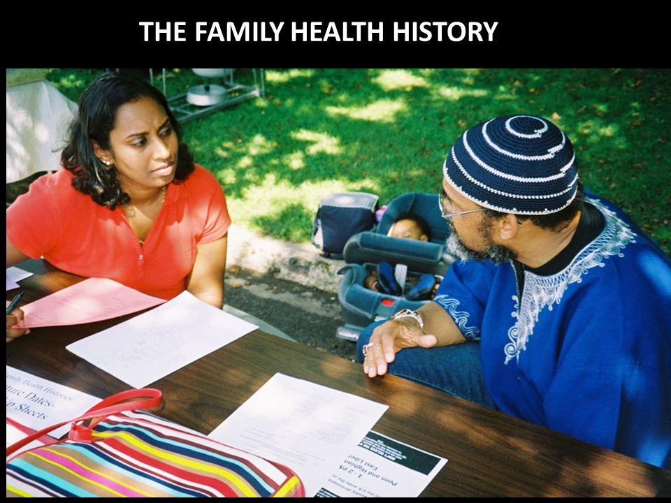 THE FAMILY HEALTH HISTORY