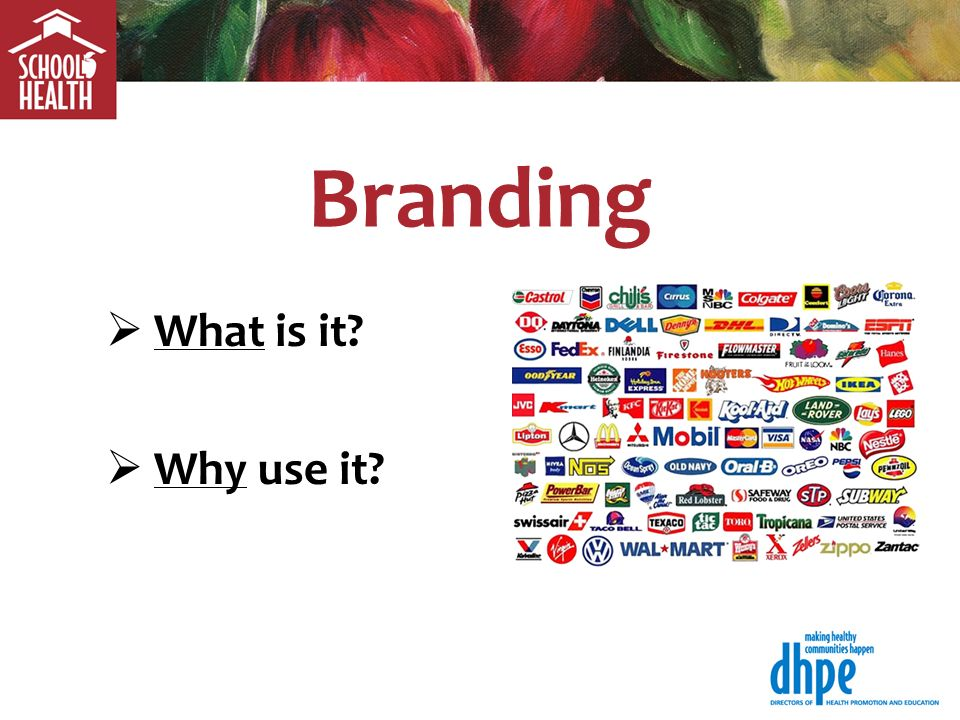 Branding What is it Why use it