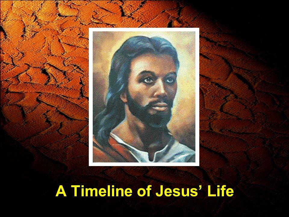 A Timeline of Jesus Life
