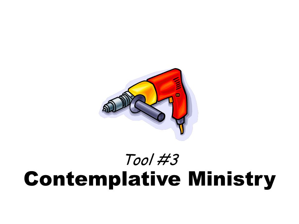 Contemplative Ministry Tool #3