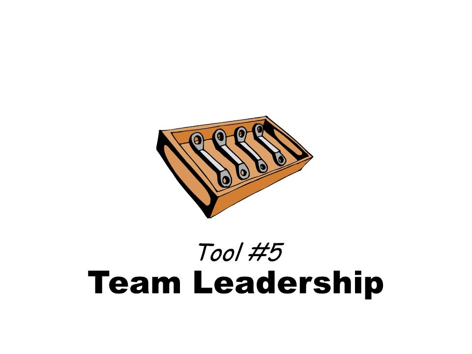 Team Leadership Tool #5