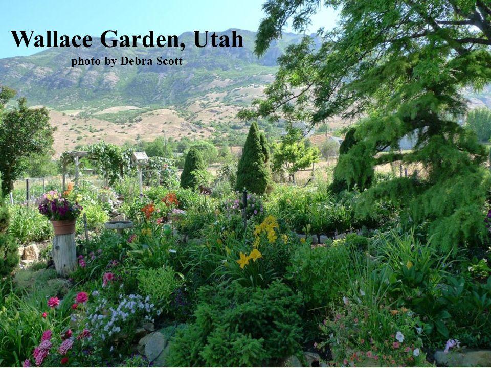 Wallace Garden, Utah photo by Debra Scott