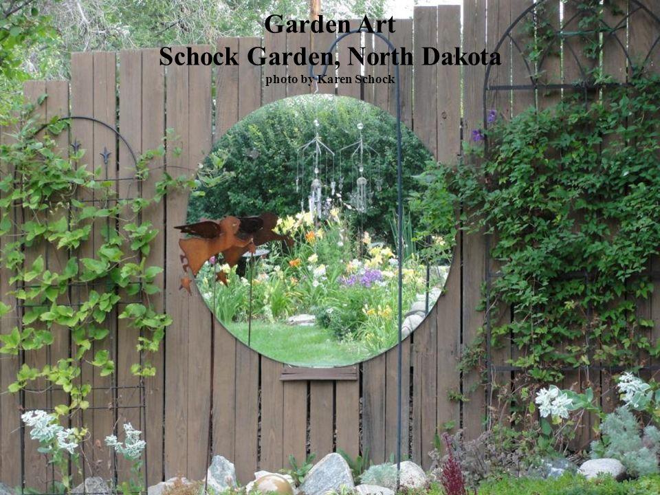 Garden Art Schock Garden, North Dakota photo by Karen Schock