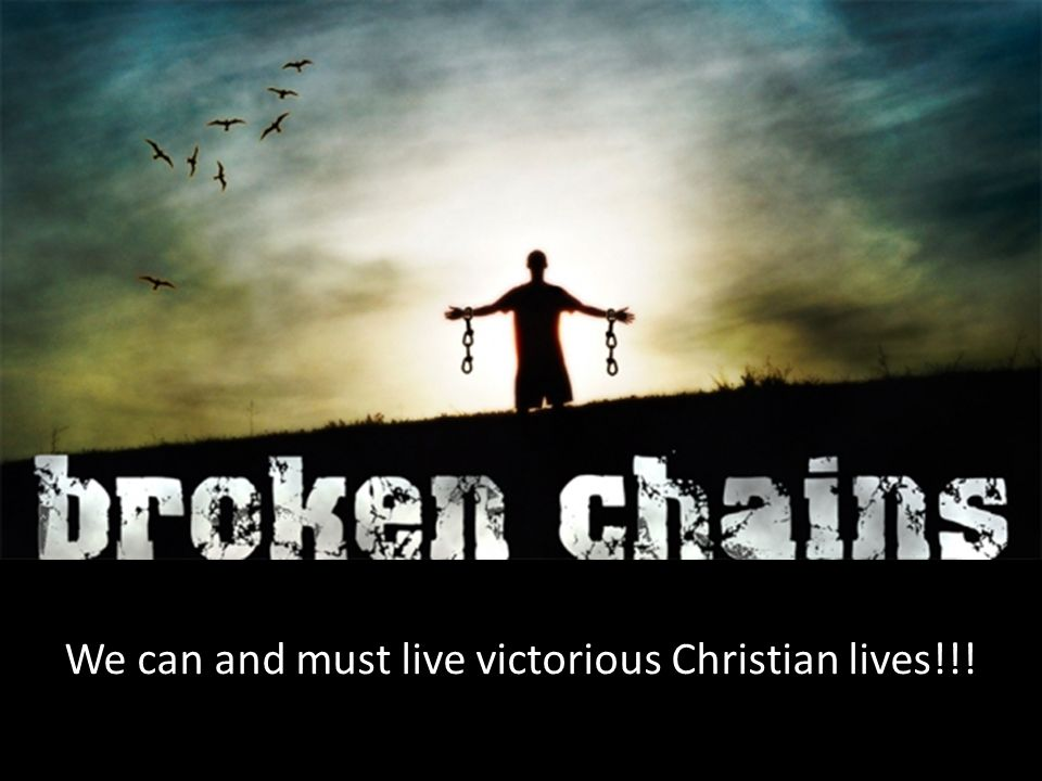 We can and must live victorious Christian lives!!!