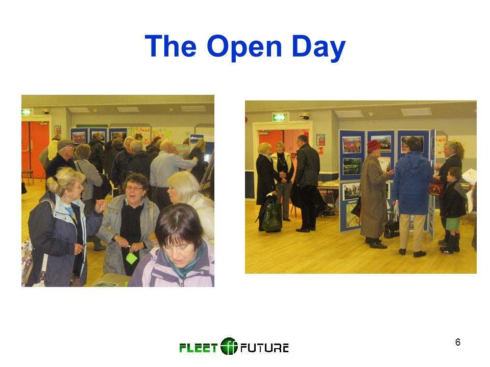 6 The Open Day