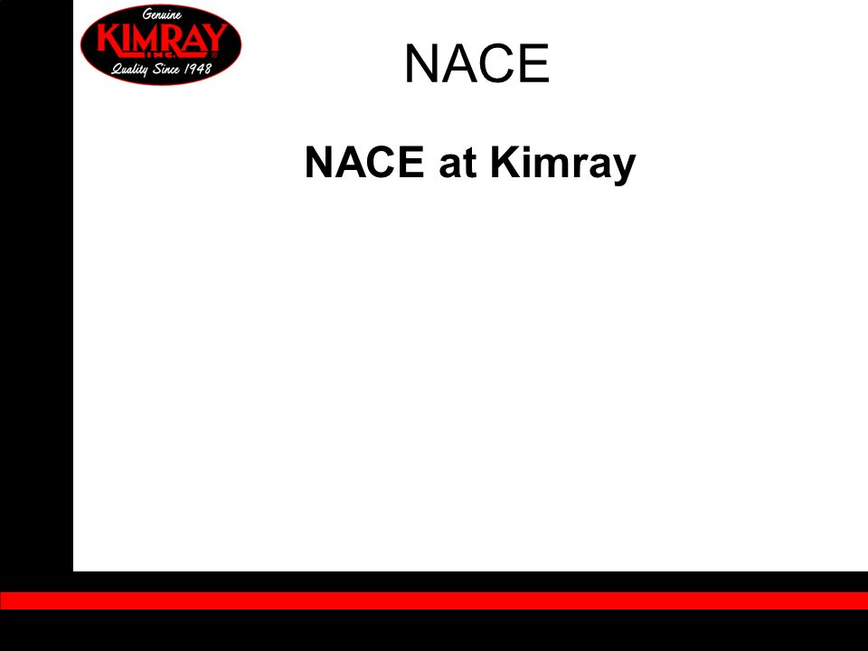 NACE NACE at Kimray
