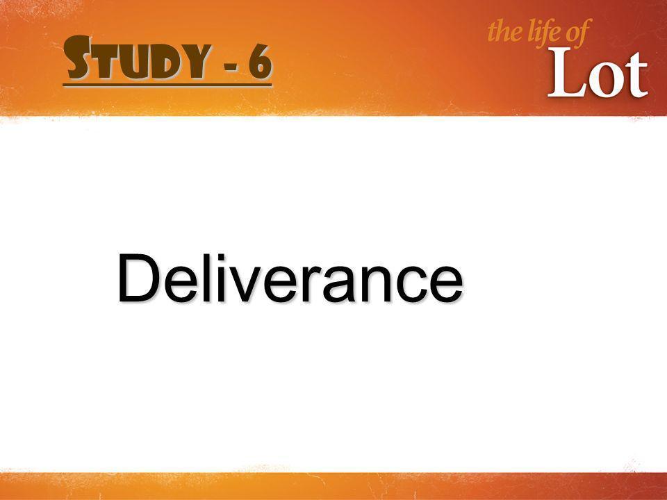 Deliverance S tudy - 6