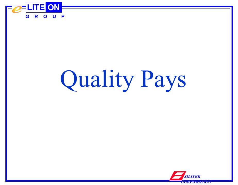 LITEON G R O U P SILITEK CORPORATION Quality Pays