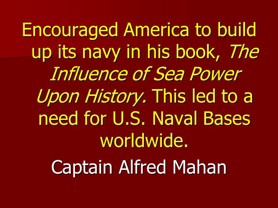 Captain Alfred Mahan