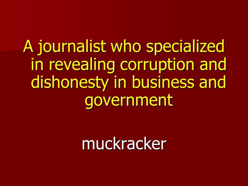 muckracker