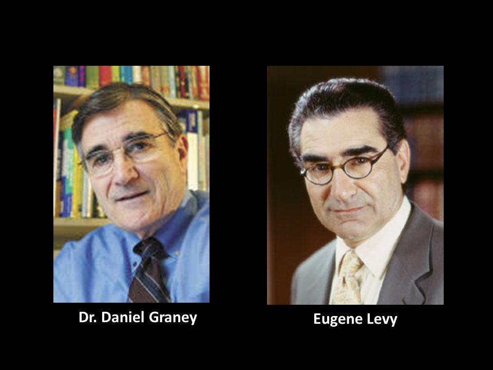 Eugene Levy Dr. Daniel Graney