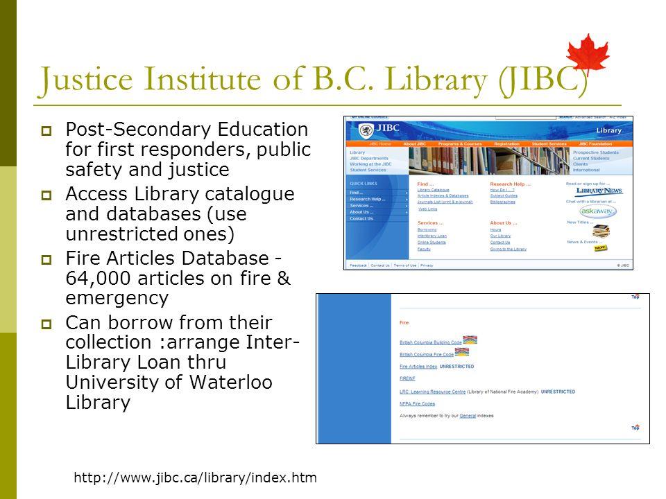 Justice Institute of B.C.