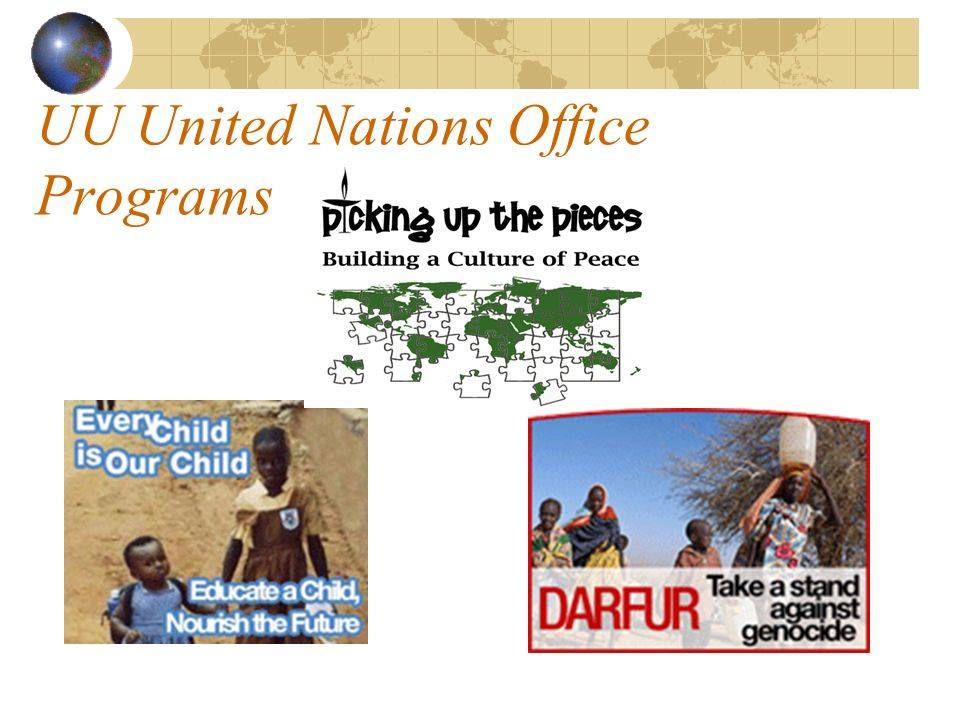 UU United Nations Office Programs