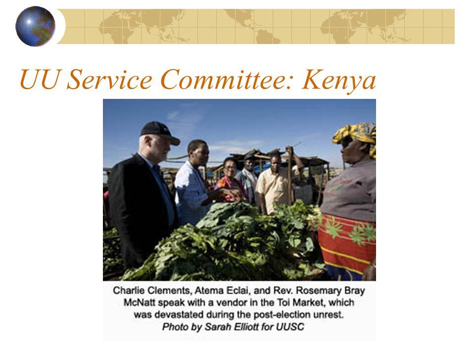 UU Service Committee: Kenya