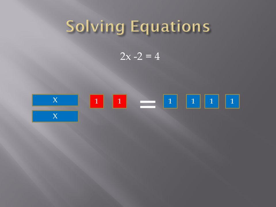 2x -2 = 4 X X 11 = 1111