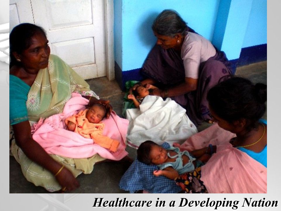 Healthcare in a Developing Nation