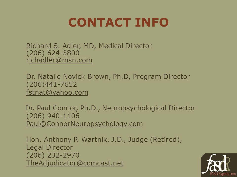 CONTACT INFO Richard S.