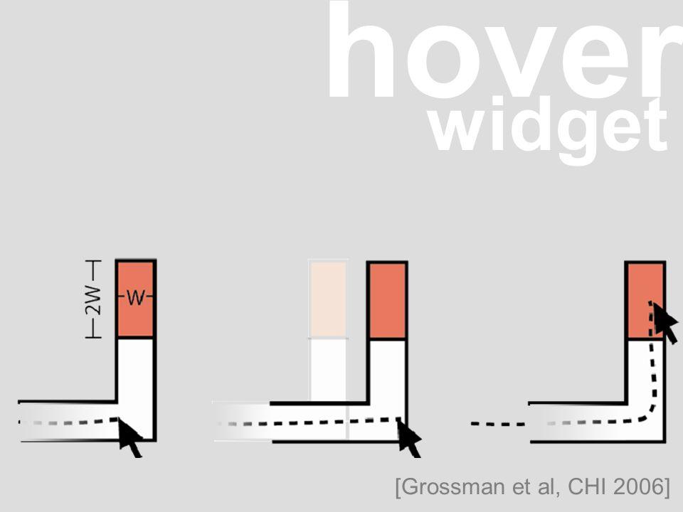 hover widget [Grossman et al, CHI 2006]