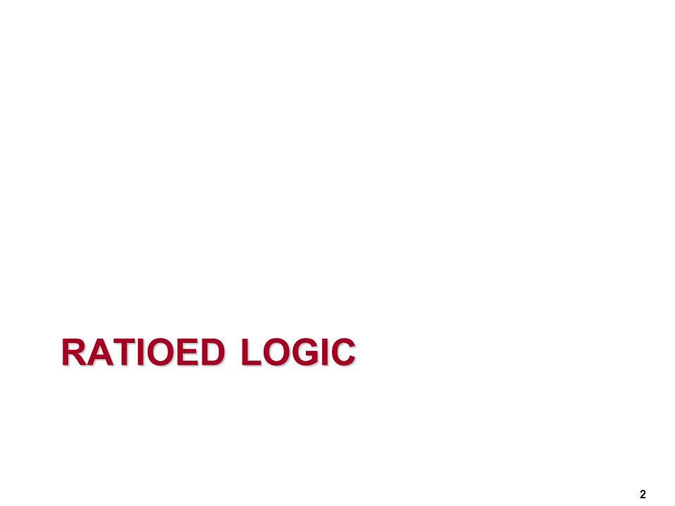 RATIOED LOGIC 2