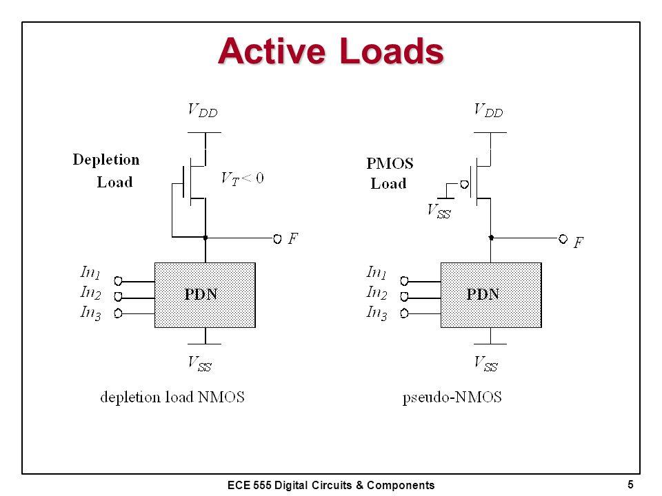 ECE 555 Digital Circuits & Components Active Loads 5