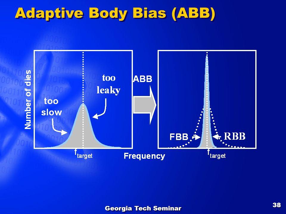 Georgia Tech Seminar 38 Adaptive Body Bias (ABB)