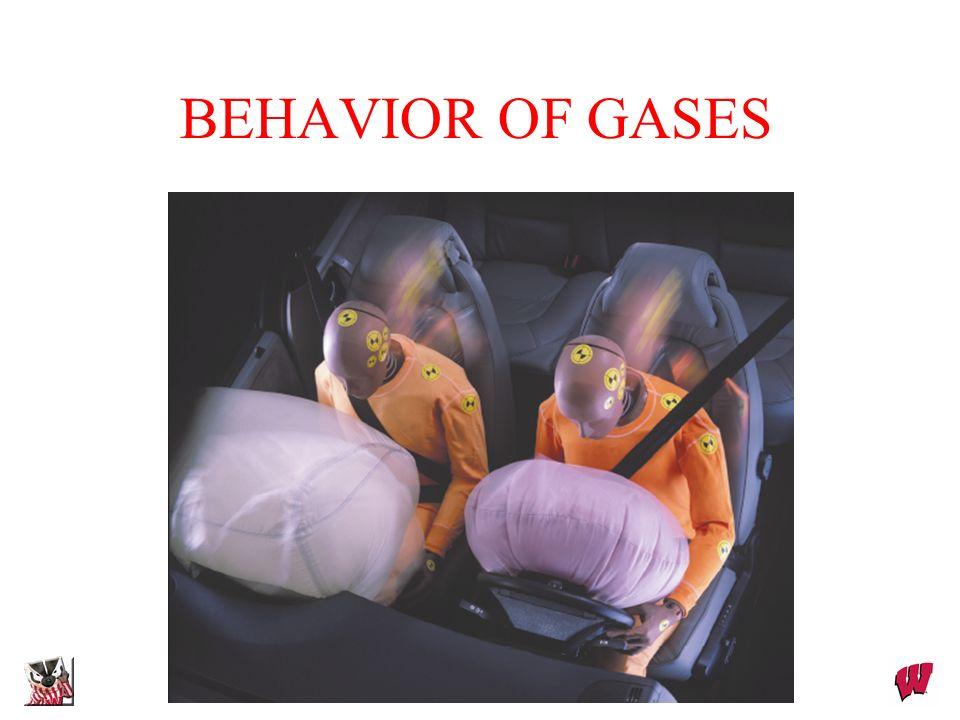 Dr. S. M. Condren Chapter 12 BEHAVIOR OF GASES