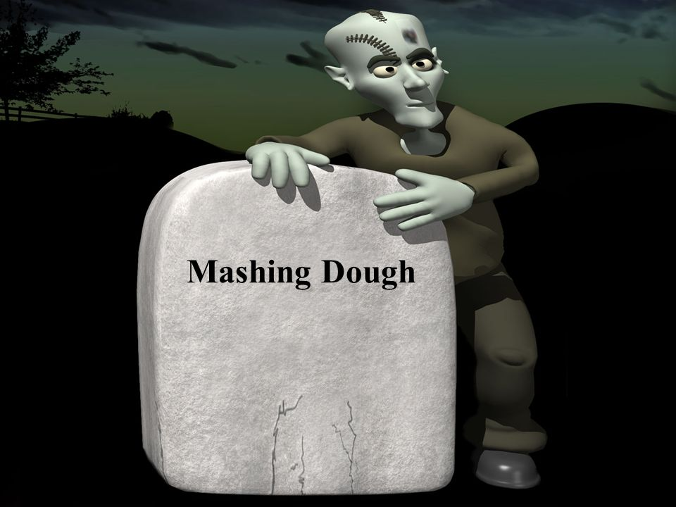 Mashing Dough