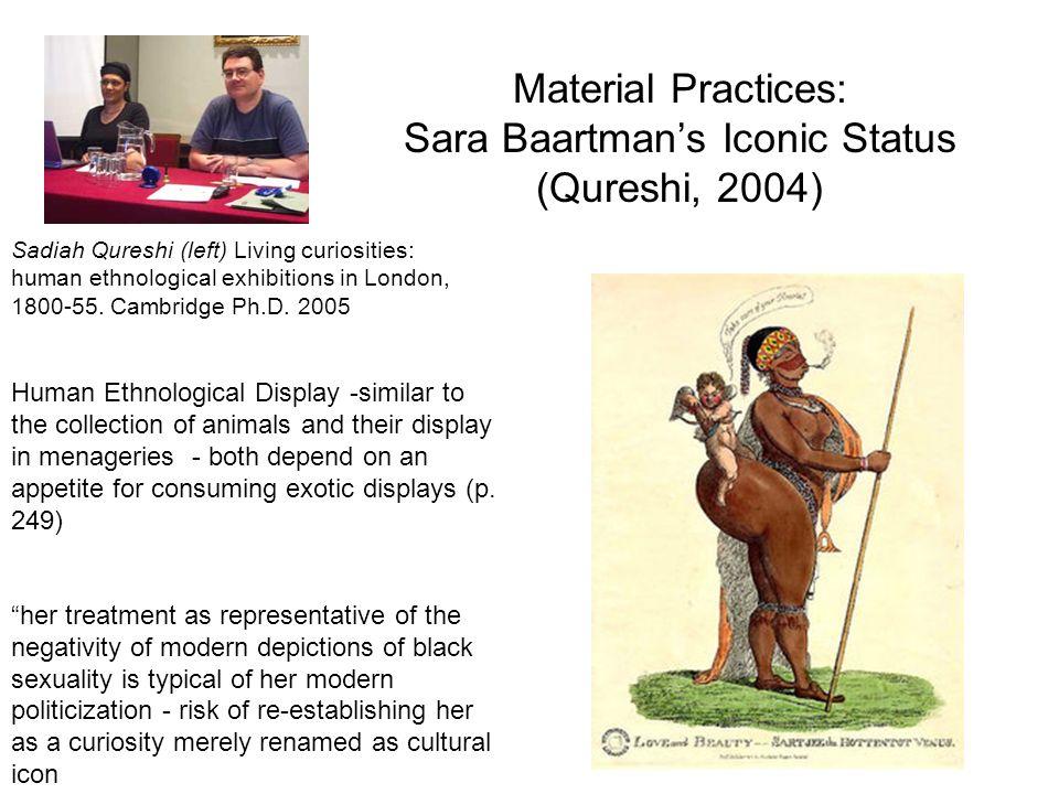 Historicization Sarah Baartmans tale is in many ways unexceptional p.