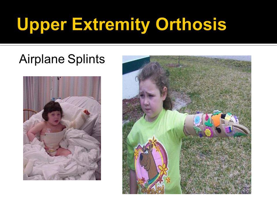 Airplane Splints