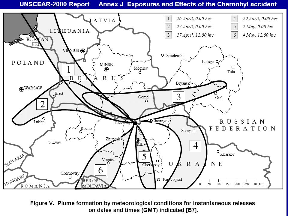 UNSCEAR-2000 Report Annex J Exposures and Effects of the Chernobyl accident
