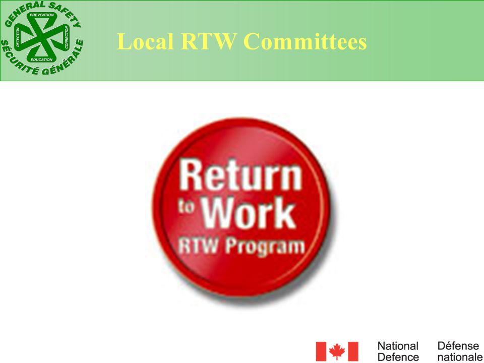 Local RTW Committees