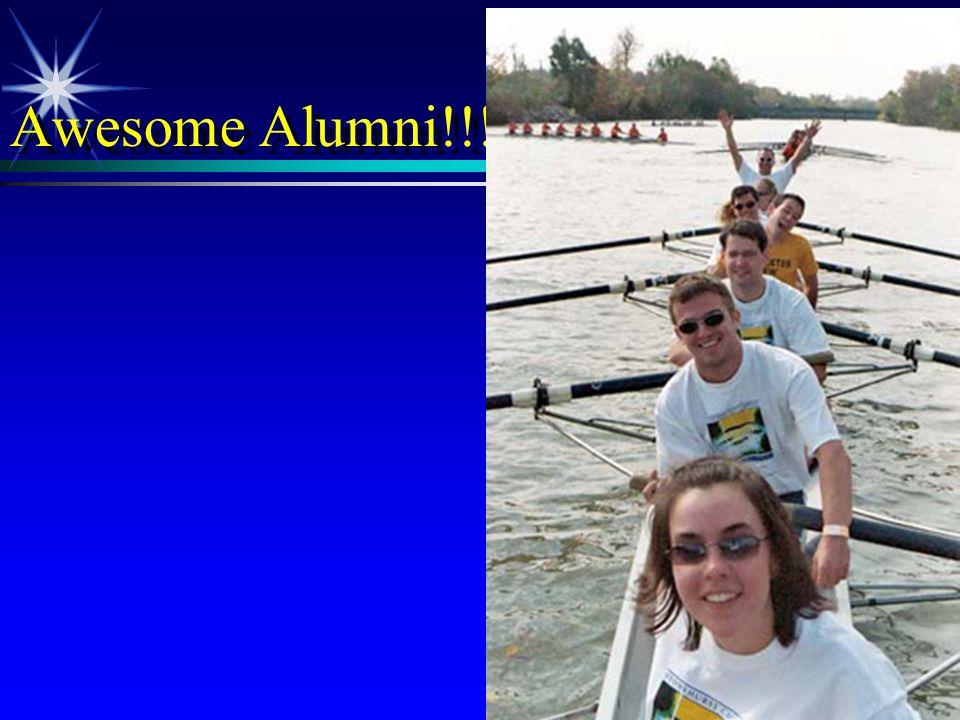 Awesome Alumni!!!
