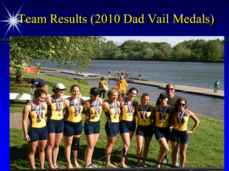 Team Results (2010 Dad Vail Medals)