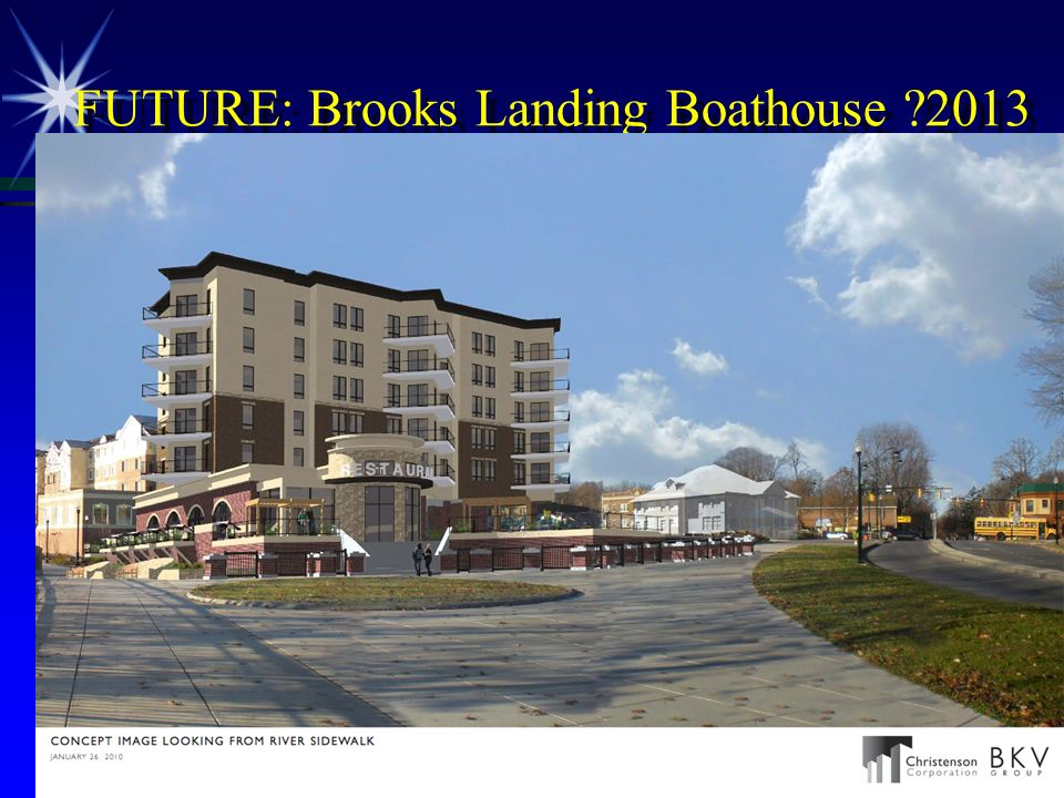 FUTURE: Brooks Landing Boathouse ?2013