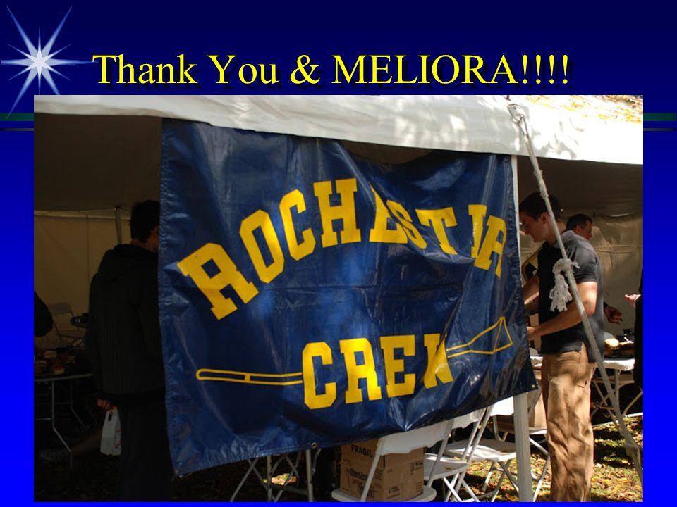 Thank You & MELIORA!!!!