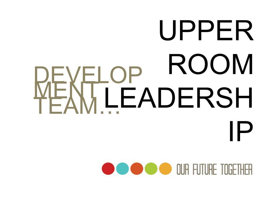 UPPER ROOM LEADERSH IP DEVELOP MENT TEAM…
