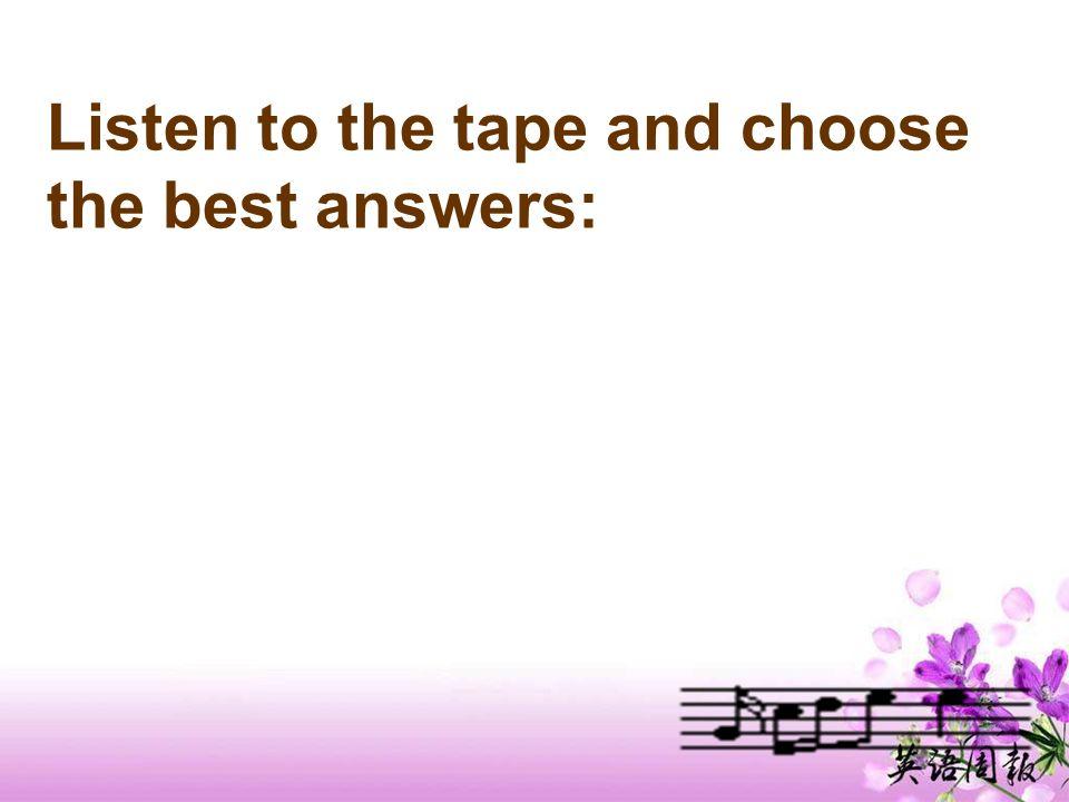 Answers to C2 1234512345 d c a b e