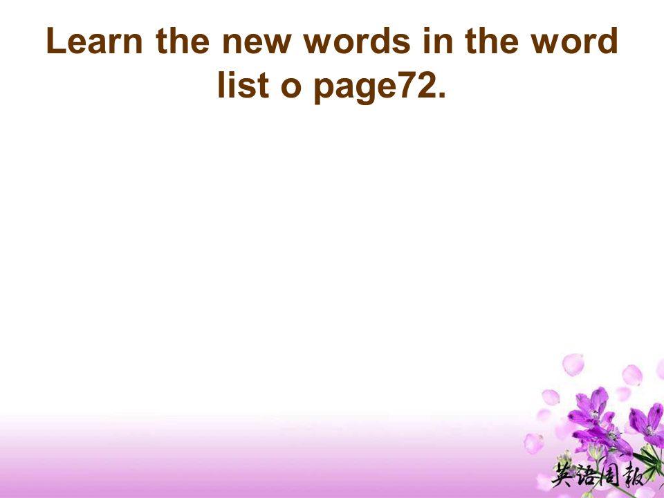 Word study: Answers to Part D 1 2 3 4 5 6 7 8 c d e a g f h b